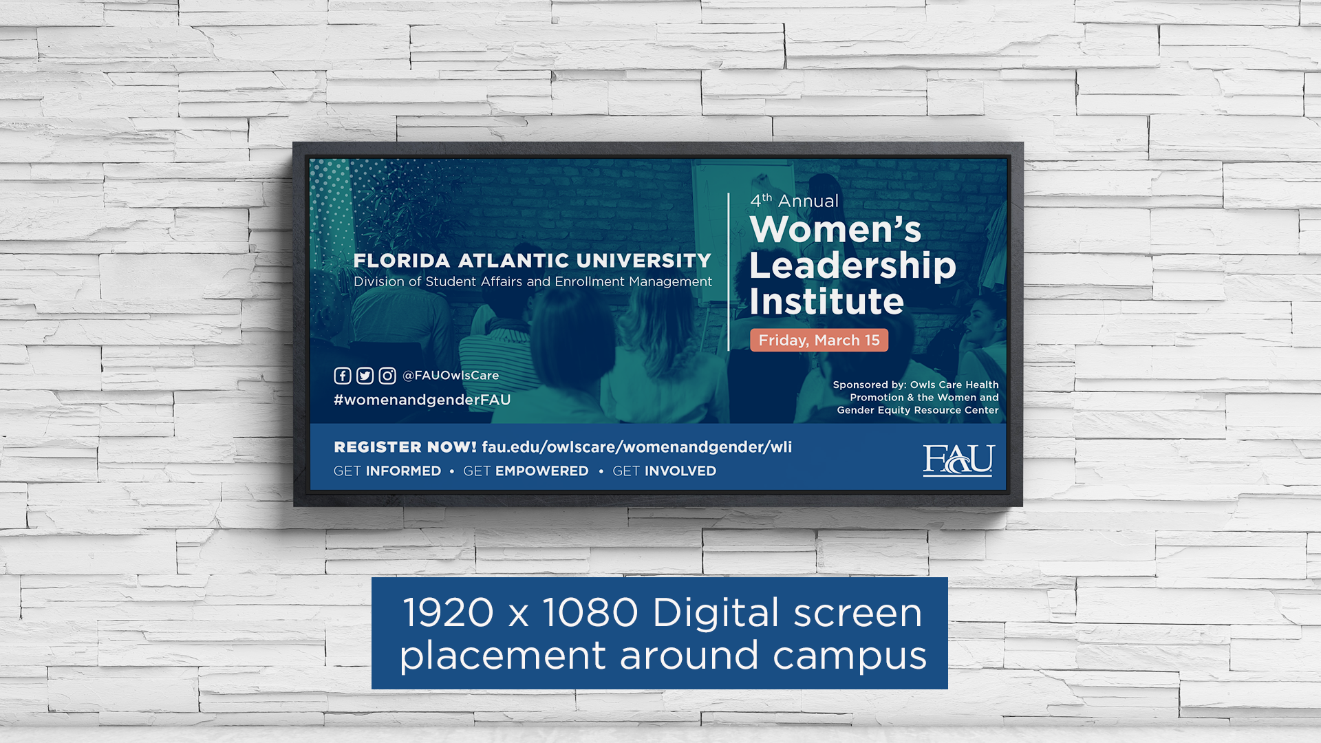 Digital Graphic Design_FAU Leadership Institute Digital Signage.png