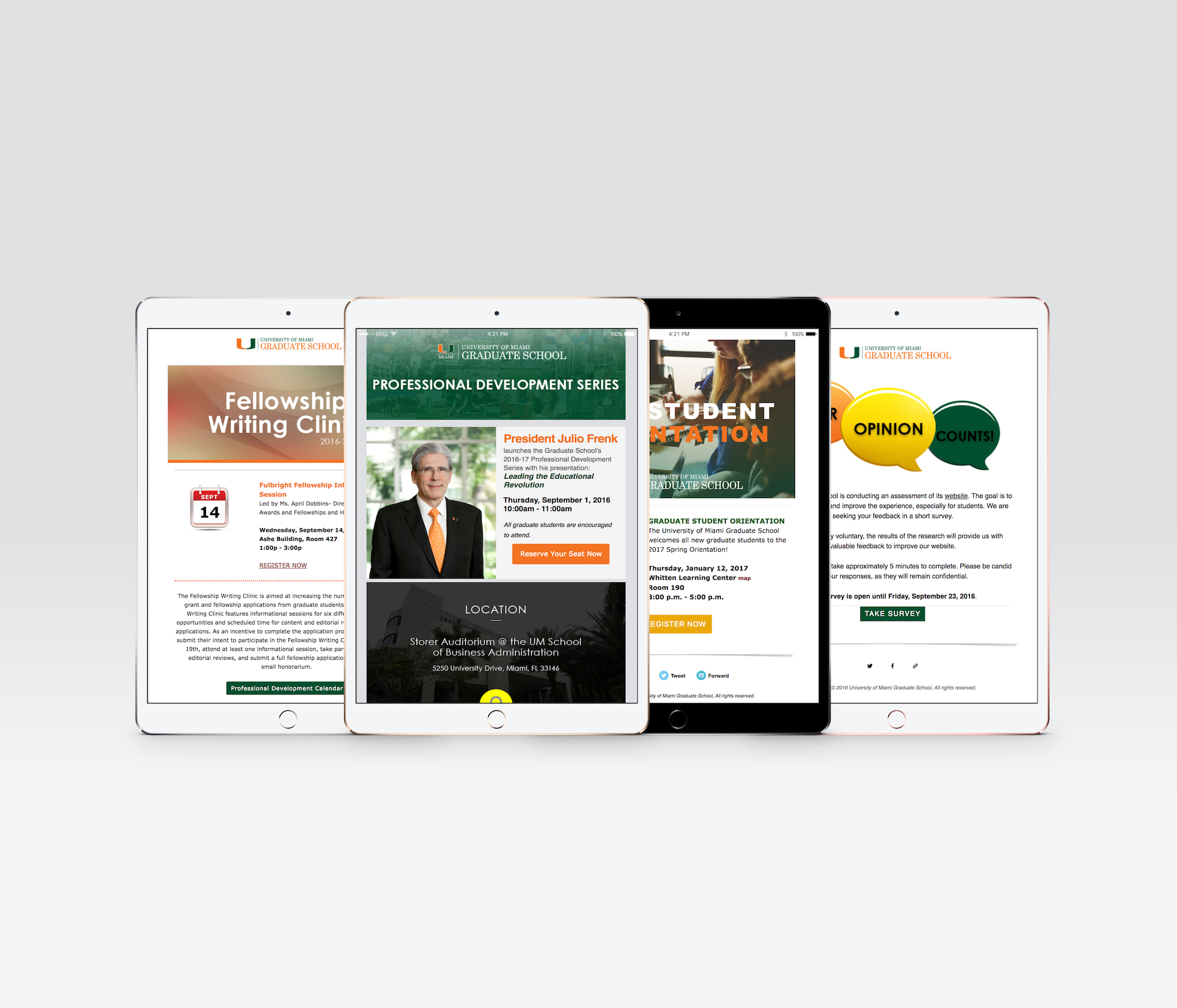 University of Miami Mailchimp Email Campaigns.jpg
