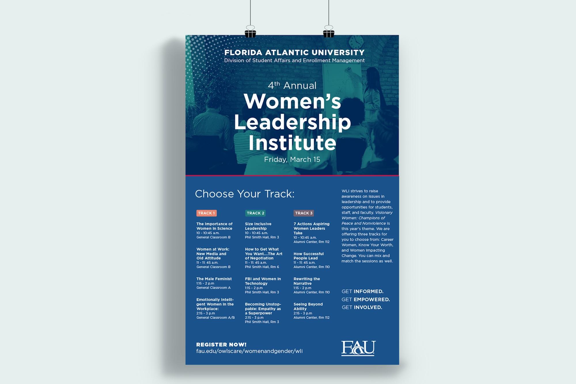 Print Graphic Design_FAU Leadership Institute Poster.jpg