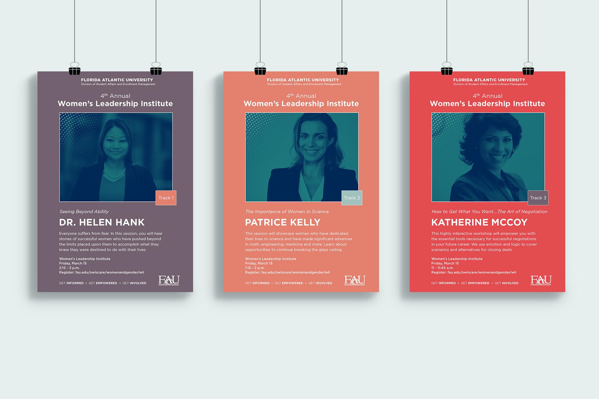 Print Graphic Design_FAU Leadership Institute Speaker Posters.jpg