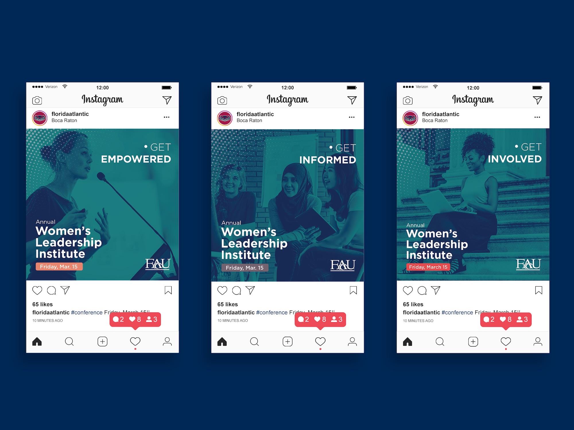 Digital Graphic Design_FAU Leadership Institute Instagram Series.jpg