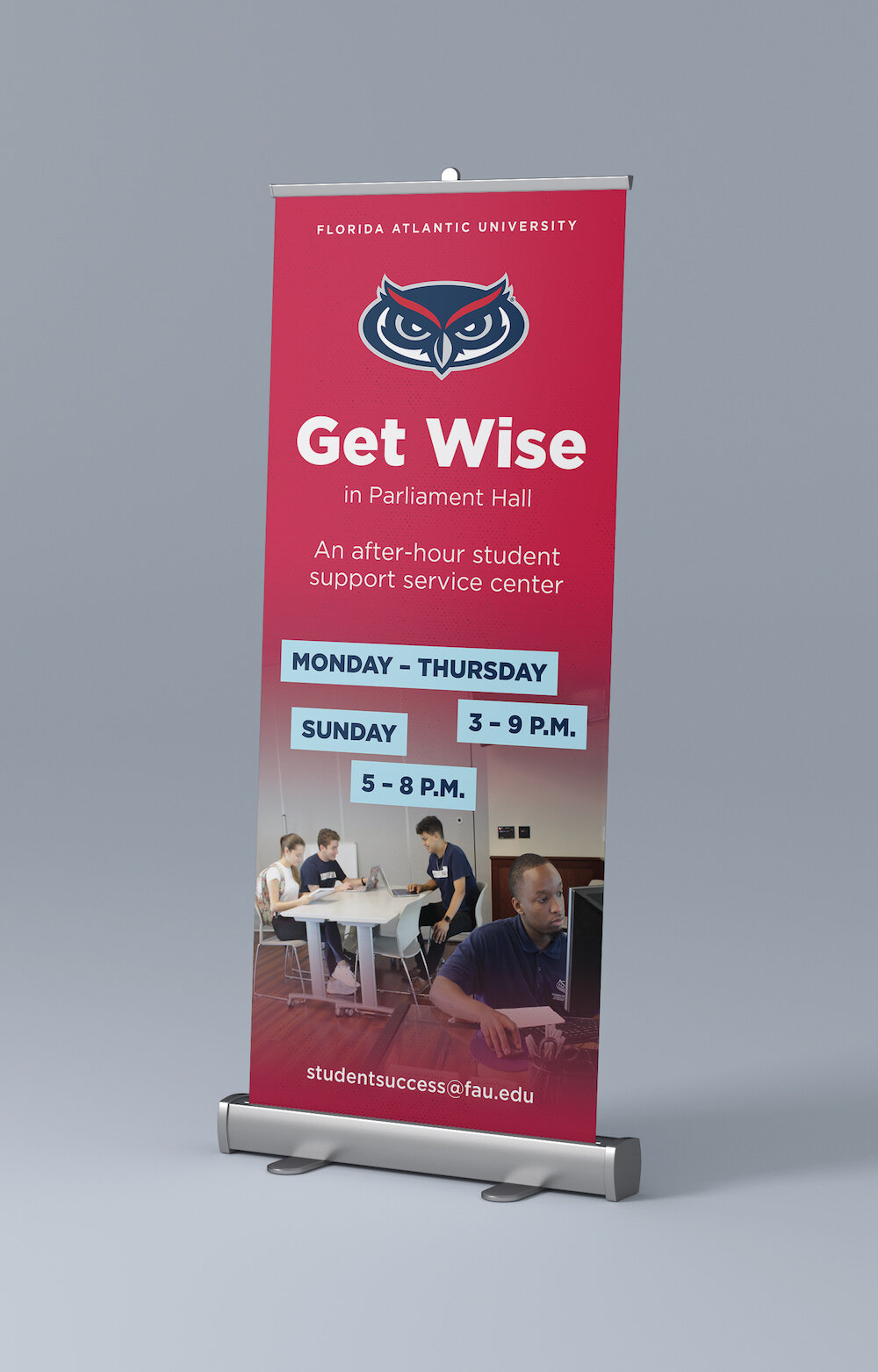 FAU Get Wise Campus Rollup Banner