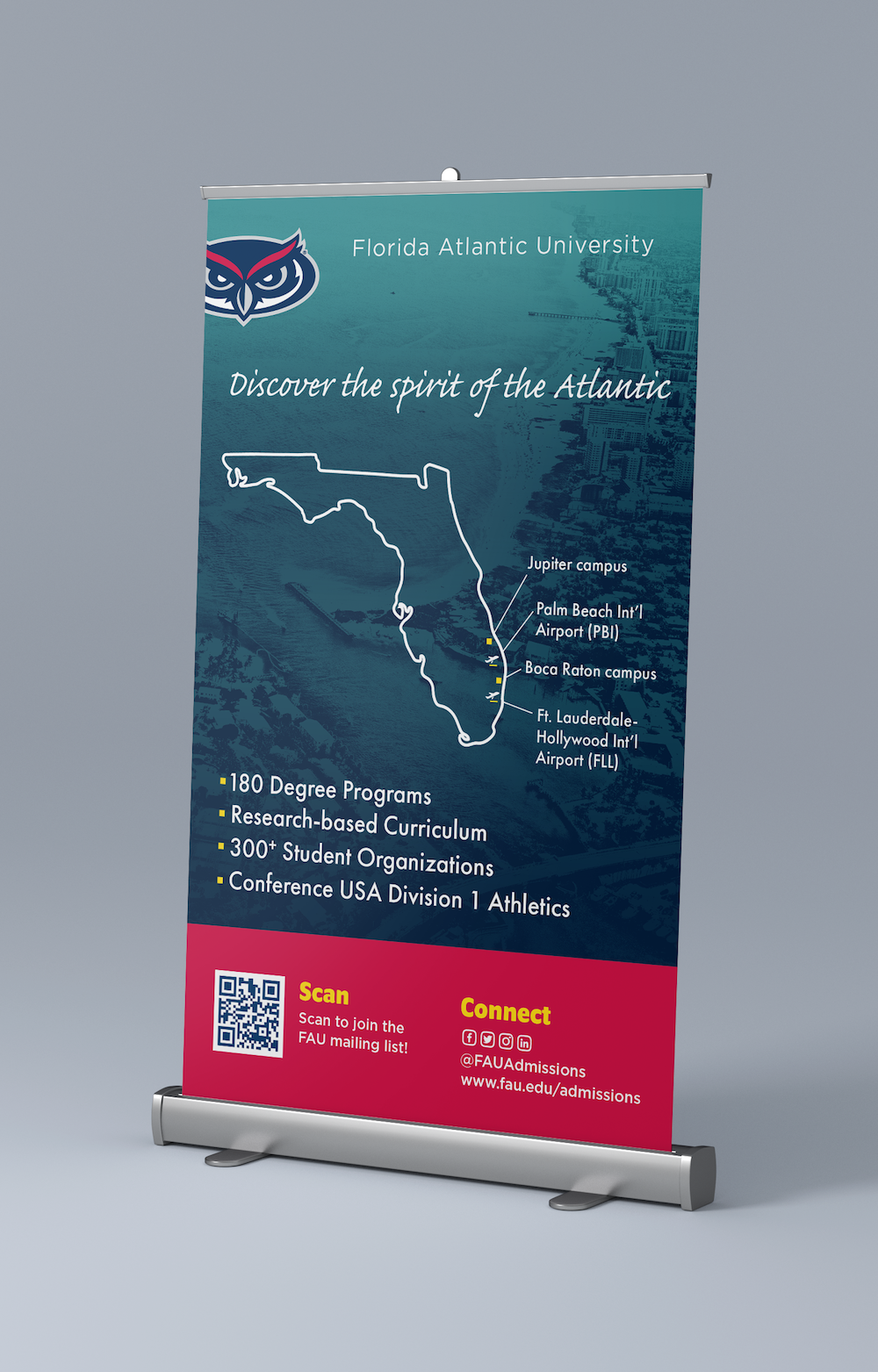 FAU Admissions Recruitment Table Top Banners_Connect.png
