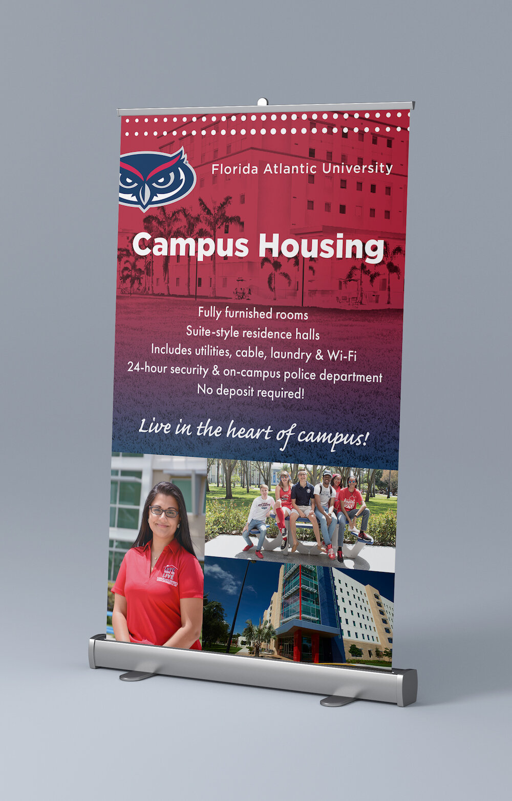 FAU Admissions Recruitment Table Top Banners_Housing.jpg