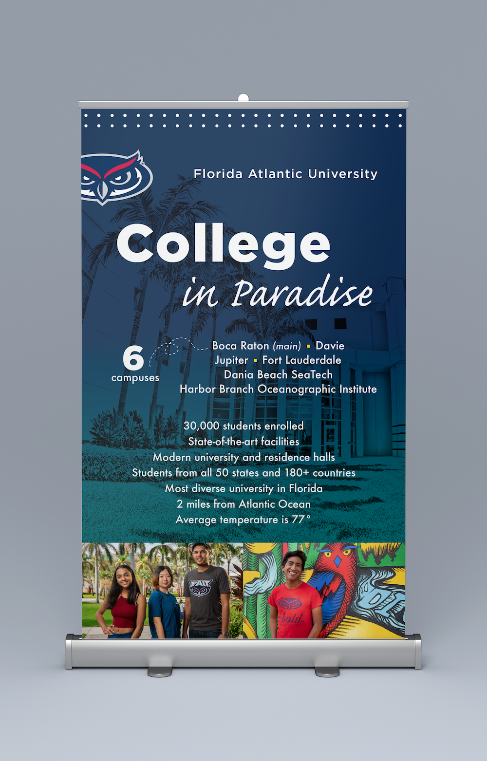 FAU Admissions Recruitment Table Top Banners_Statistics.png