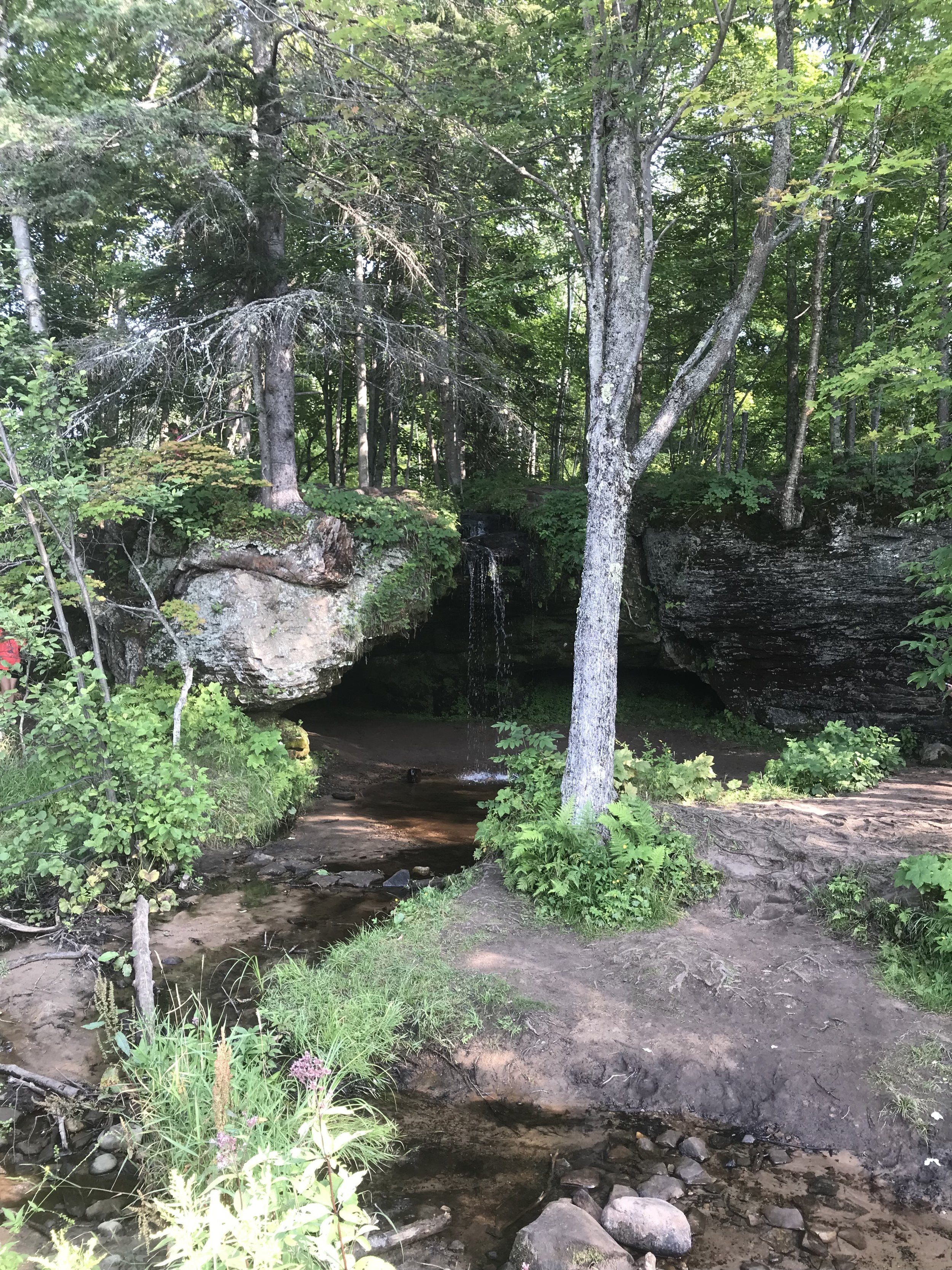 One thing I LOVE about the U.P. - roadside waterfalls!