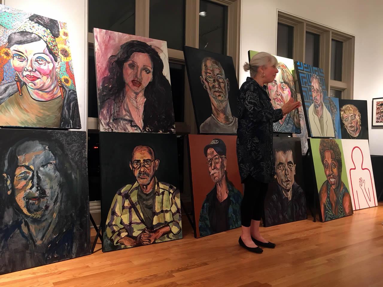 BrownGold's portrait series explores healthcare in America.