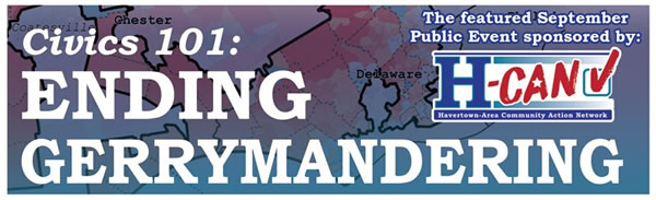 Ending gerrymandering graphic