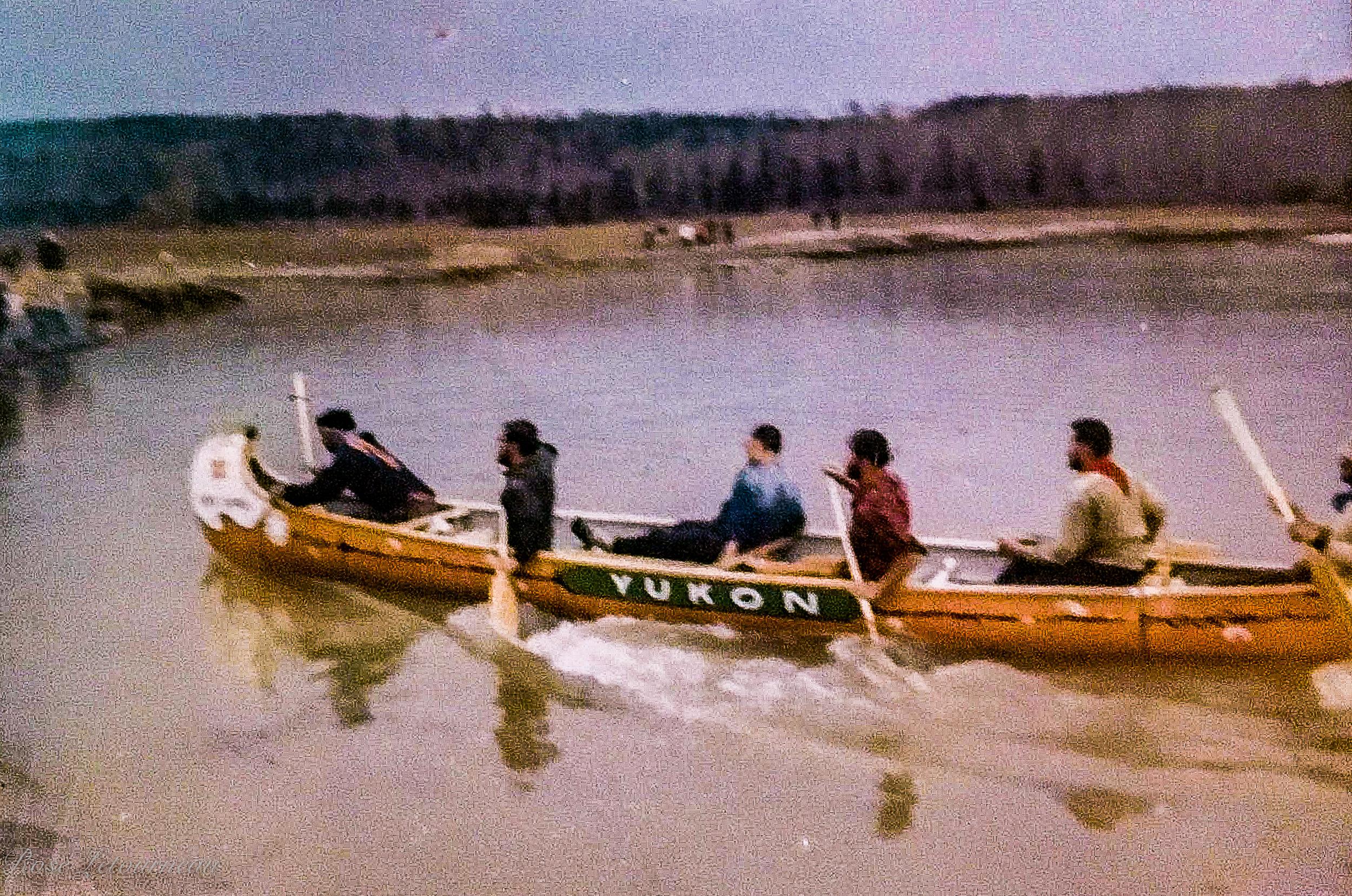 Centennial Canoe Pageant Yukon Team