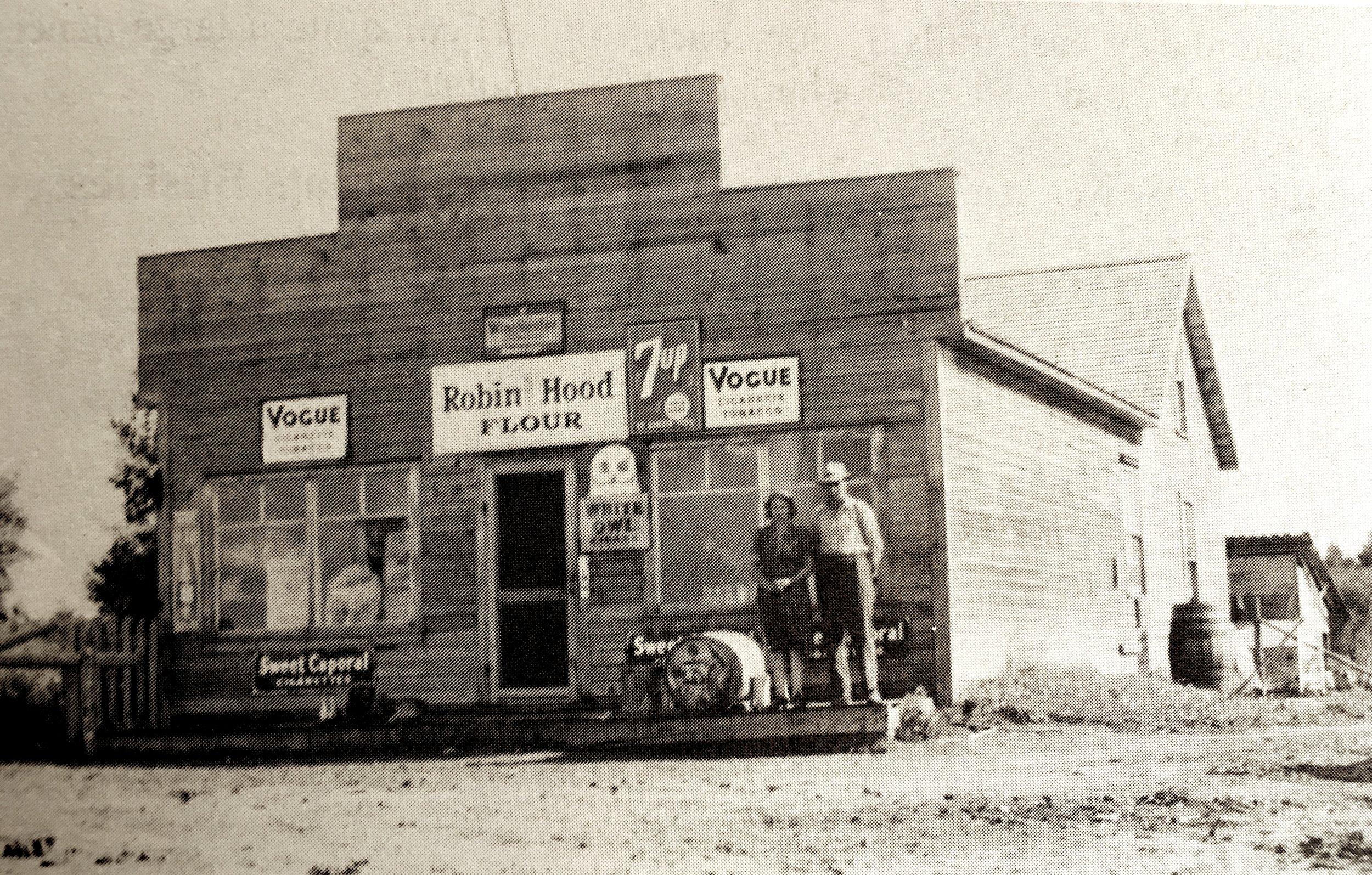 Alder Flats Grocery Store @1940s