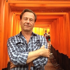 Claude in Kyoto Temple.JPG