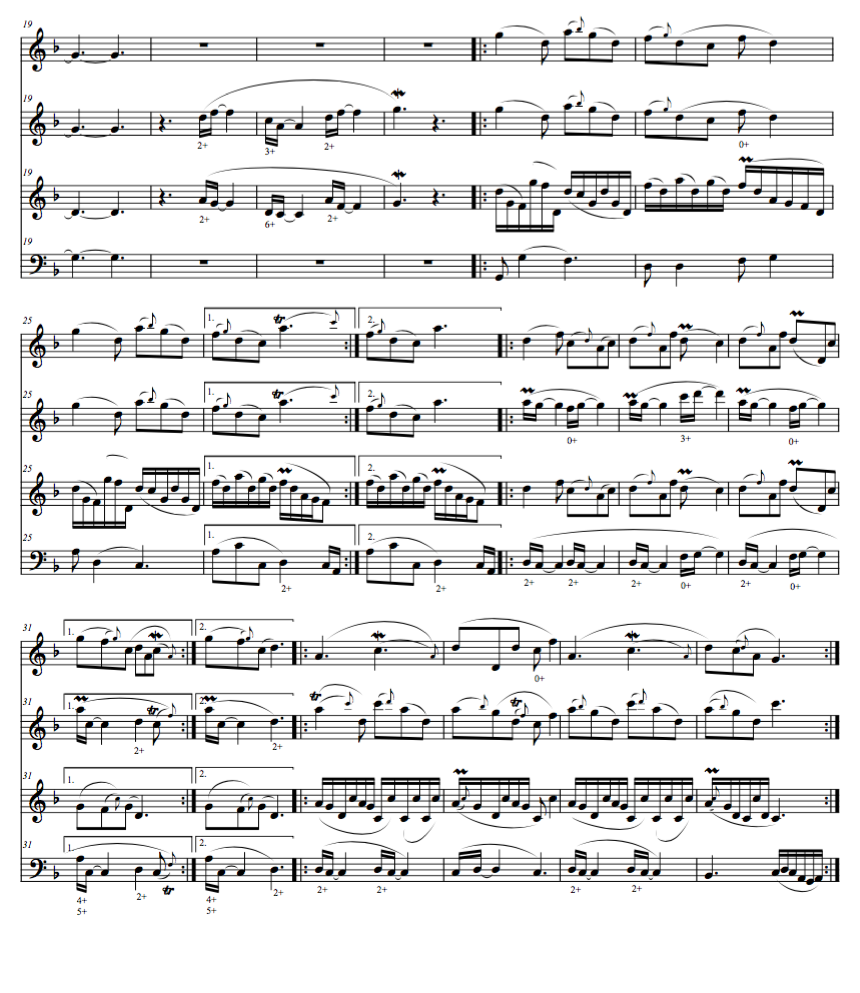 REFLECTION For descant, treble, tenor and bass. Available as a download and sheet music. Orpheus Music, OMP 206 (2009).