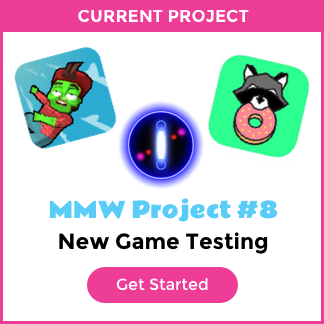 We have 3 new games that need testing: Donut Country, Ellipsis, and Zombiefall. We need as much testing as possible!
