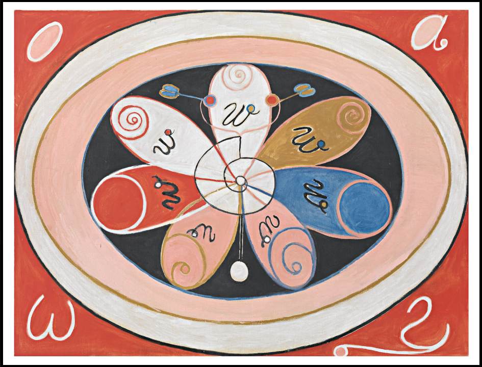 Hilma af Klint: Untitled, 1908
