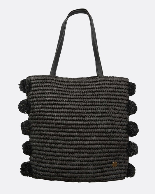 Palms Up Straw Bag