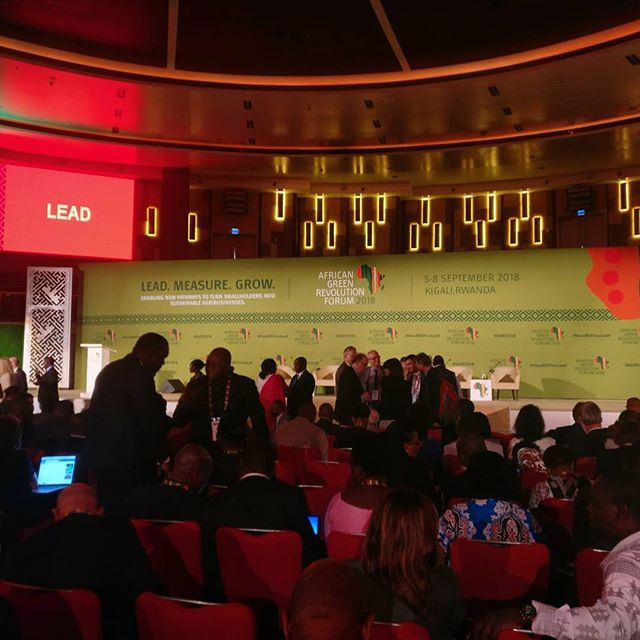 At the African Green Revolution Forum 2018 with @bridge2rwanda. Looking forward to a week of collaborating with governmental organizations and private sector suppliers to get Seed4Africa off the ground. • • • #sustainableagafrica #SEED4Africa #b2r #agrf2018 #africaagriculture #seeds #greenrevolution #rwanda #sustainability