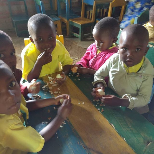 #tbt to when @oneeggworldwide only served two schools in Rwanda, Rugeshi being one of them. Today #zamurafarms is preparing to supply 51 pre- schools with one egg a day. Prayers used to be whispered, now they are yelled out with giant smiles. Shoes used to be so small on the wrong feet, now children eating one egg a day are big and strong with their shoes on the right feet. Keep swiping for today versus 7 years ago. •  Links to OneEgg.org and the video this school filmed 7 years ago in bio.