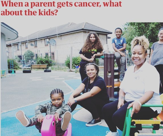 Spotlight on @iamnicoladady in the UK for getting her family through cancer, and helping others to do the same by founding @dontforgetthekidsuk. This article talks about how kids cope, the power of art and play to express tough feelings, and the need for more support for families impacted by cancer. Couldn't say it better ourselves! www.theguardian.com/world/2018/sep/04/the-cancer-survivor-helping-children-cope-with-parents-illness #parentwithcancer #parentswithcancer #hopethroughcancer #hopeforparentswithcancer #feathercommunity #thefeatherfoundation thefeatherfoundation.org