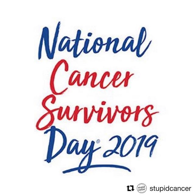 Today is National Cancer Survivors Day. If you're a person who has or has had cancer, this day recognizes you! If you know someone with cancer, reach out to show that you're thinking about them! Repost from @stupidcancer for young people with cancer. #feathercommunity #thefeatherfoundation #parentwithcancer #parentswithcancer #hopethroughcancer #gettingthroughthistogether thefeatherfoundation.org