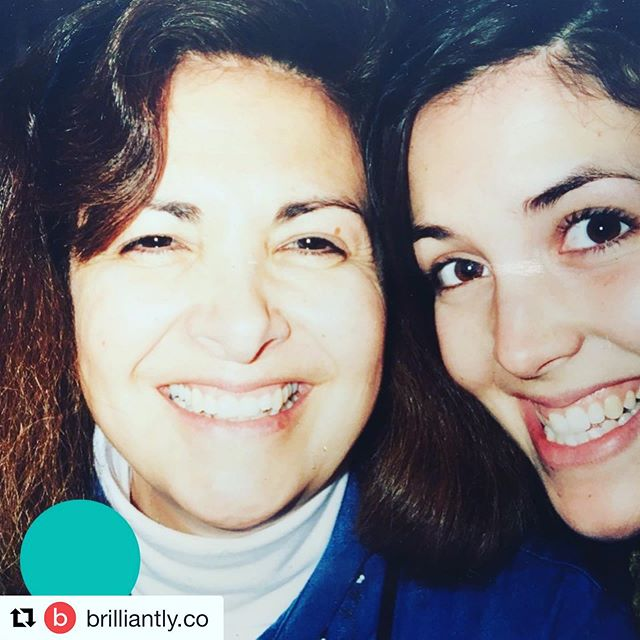 "From @brilliantly.co in remembrance of Kristen's mother who passed away from breast cancer. ""If your mom is still around, do me a favor and call her to say you love her and thank you for all that she's done."" #parentwithcancer #daughter #mother #thefeatherfoundation"