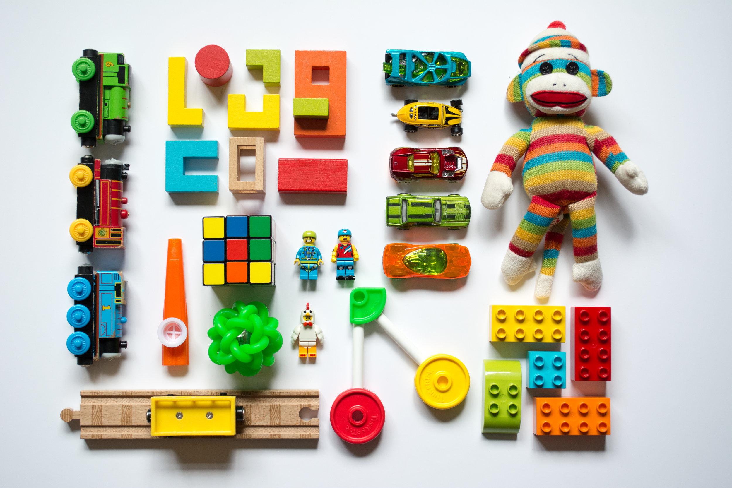 organized toys