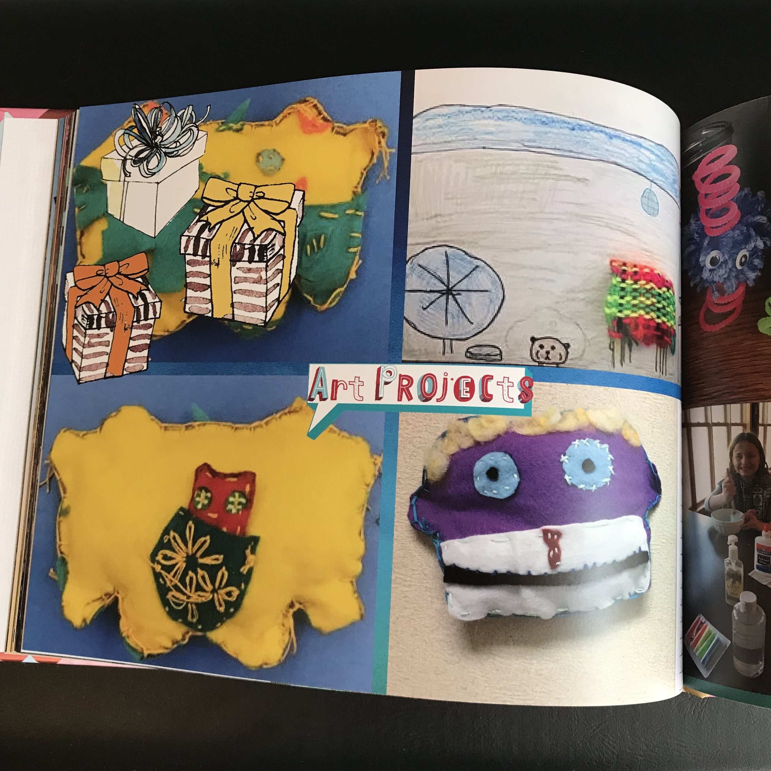 Option 3: Scan or Photograph Items and Make a Photo Album for the School Year