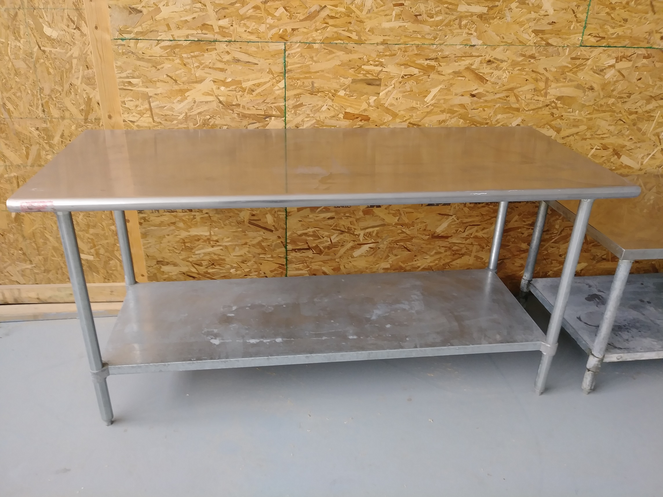 """SS 6ft x 30"""" Table"""