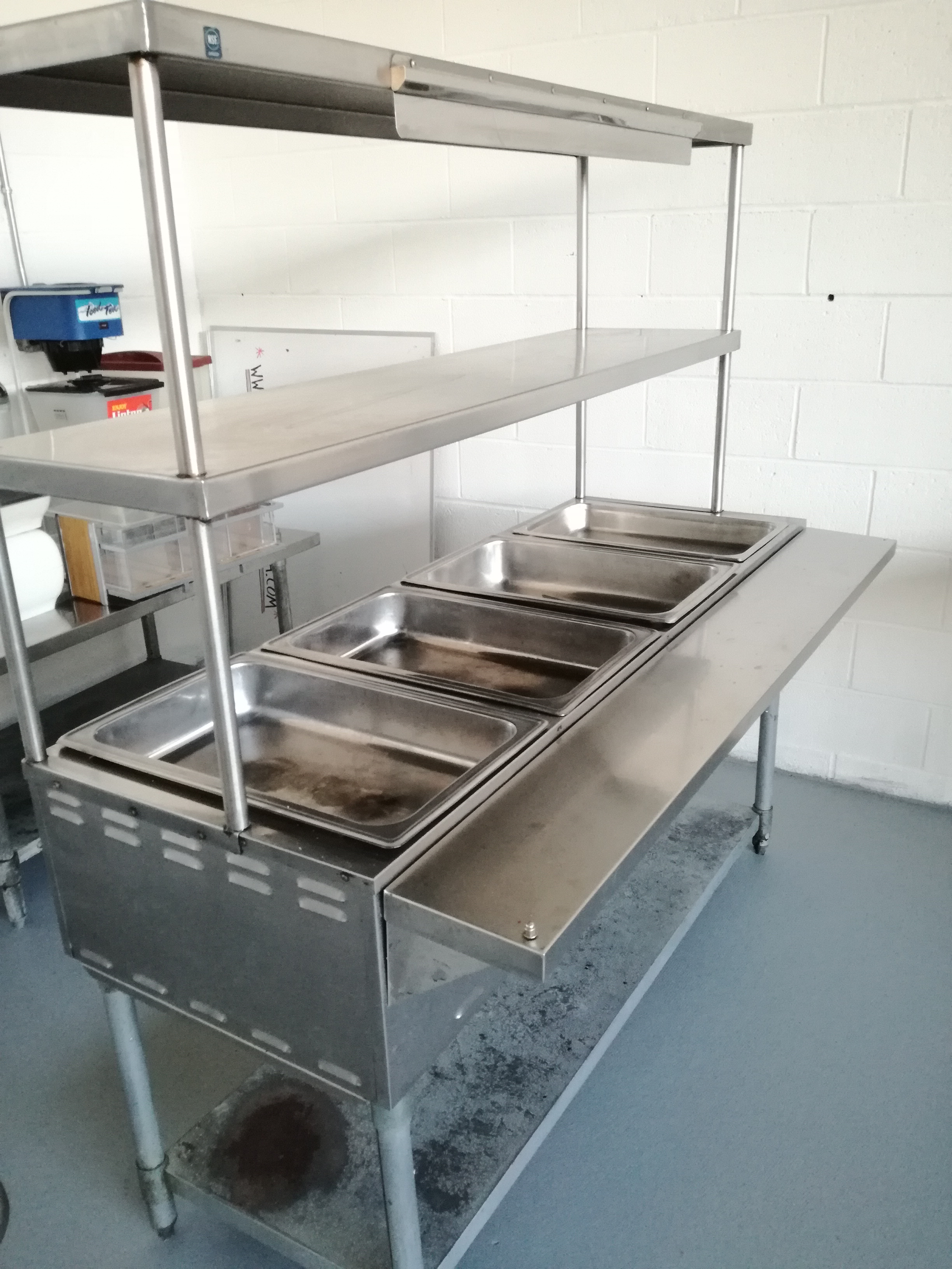 Eagle Steam Table $499
