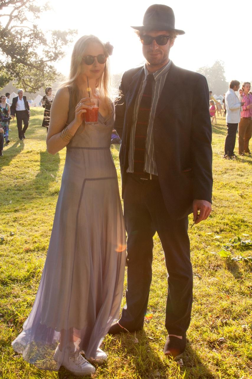 Dress code: finest garden party attire