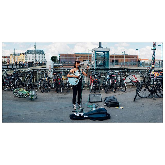 @sakurakatsuura busking in #berlin after being harassed by a drunk lady  #a7sii #pano #musician