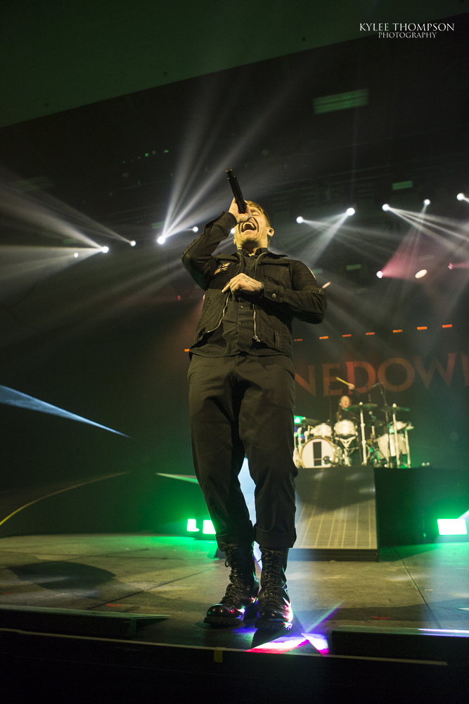 Shinedown @ The Shaw Conference Centre - March 29th 2018