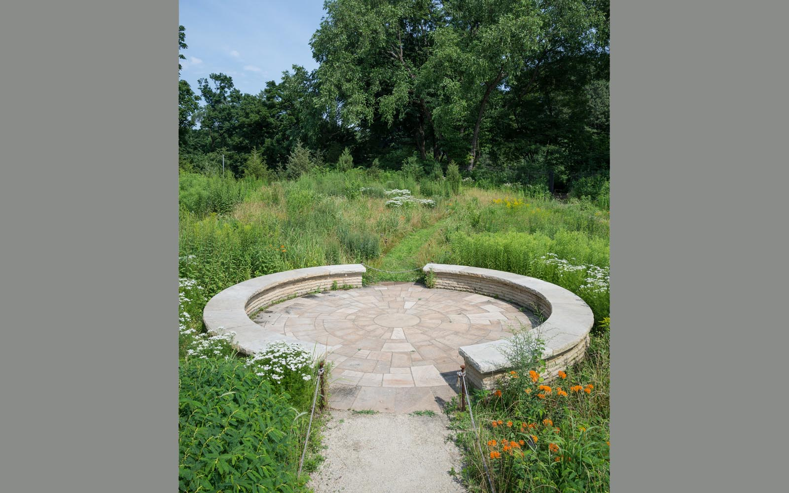 """A Jens Jensen-inspired """"signature"""" for Darrel Morrison is the Council Ring"""