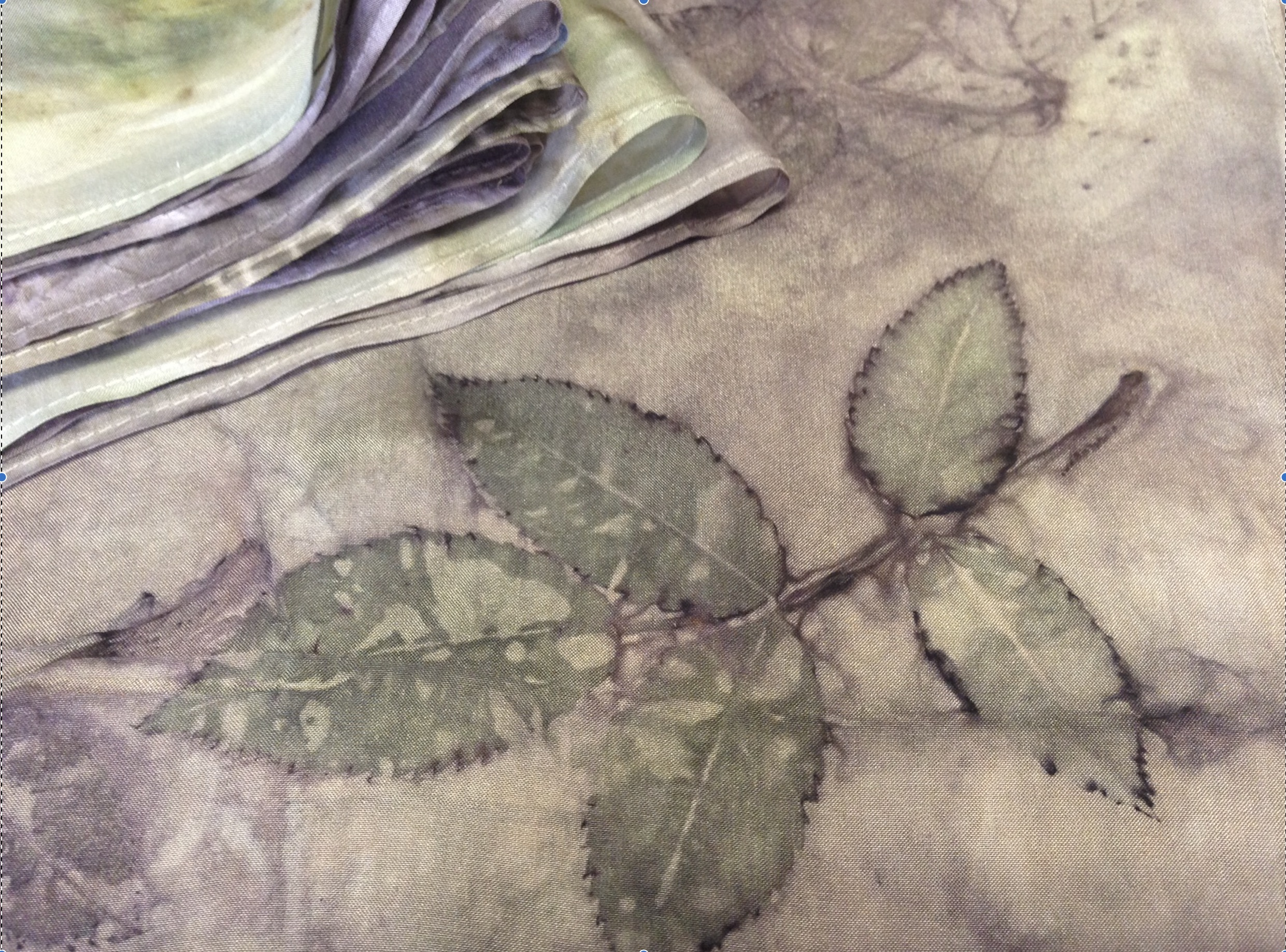 Eco Prints Bundle Dye Working : £85   Saturday, April 6, 2019  10:00 AM  3:00 PM  This workshop will introucuce you to the magic of eco printing with leaves to create pattern and colour, using the direct leaf contact method of bundle dyeing. Experimenting with a variety of leaves on fabric and paper, endless colour and patterned prints will be achieved, leaving you with the crazy desire want to create prints on every tired and dull item of clothing you own.  *all materials included, please bring a towel and bag to carry home wet items. Green
