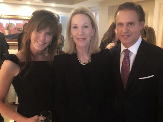 Elizabeth Kelly, Anne Eisenhower, and Julian Iragorri