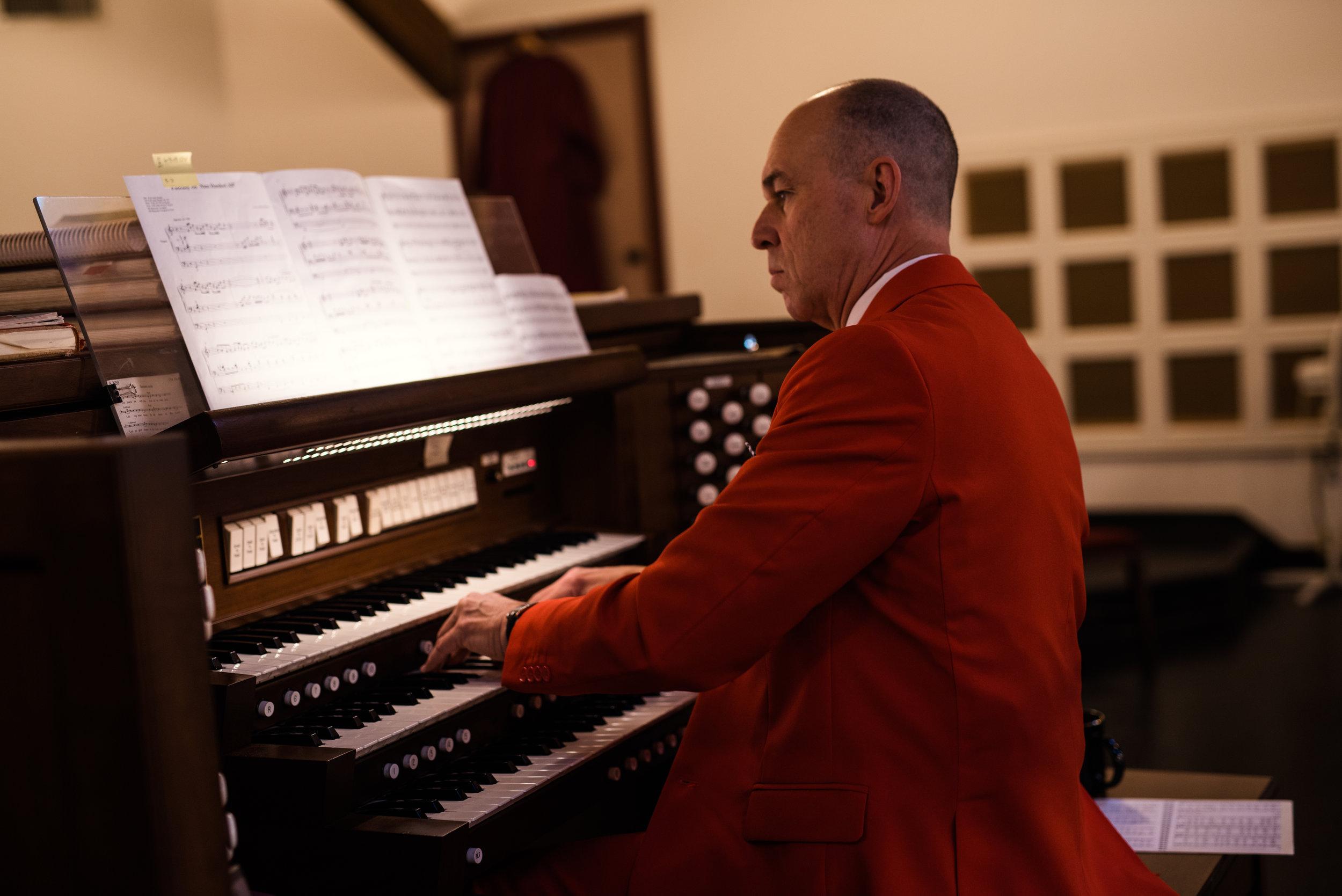 Good Shepherd Episcopal Church Kingwood Music Director Jackson Hearn