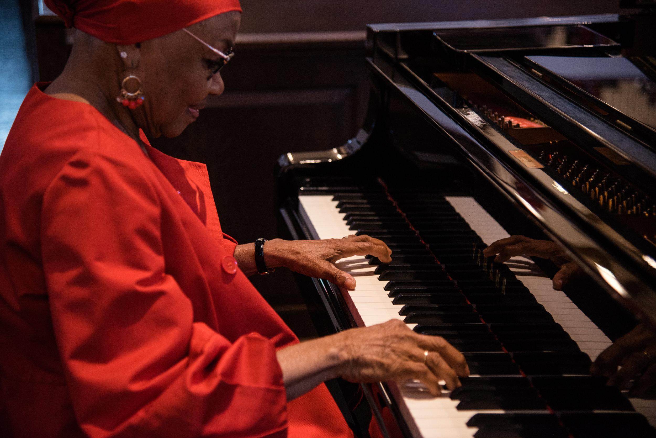 Good Shepherd Episcopal Church Kingwood Pianist Bernice Satterwhite