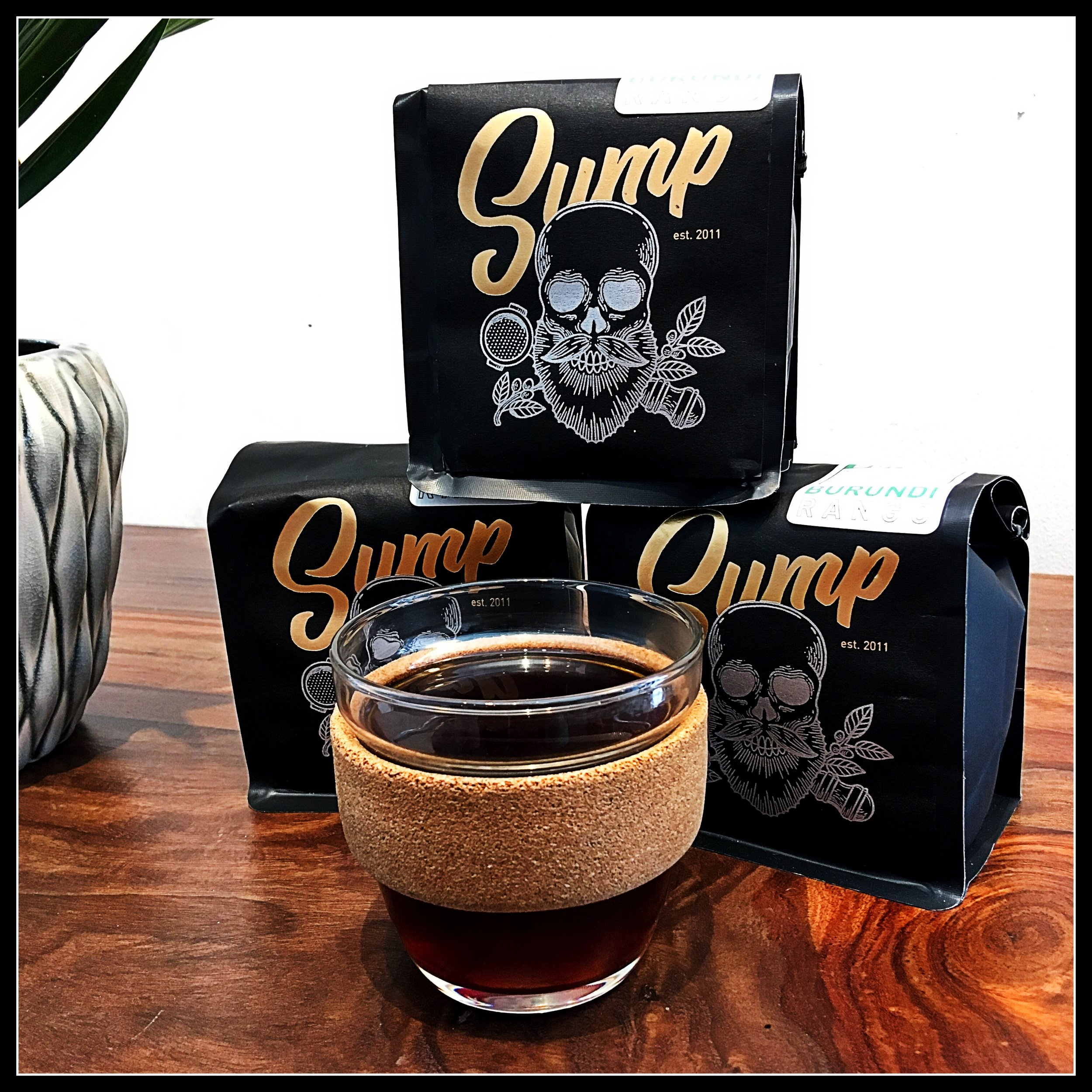 Sump Coffee Roasters - Sump Coffee Roasters is based in St. Louis and has a location in Nashville. Their roast style is unlike any other, bringing bold flavors, light roasts, and sweet balance to every bean they release. We have new coffees from Sump every week available on our shelves.Check out Sump Coffee ➝
