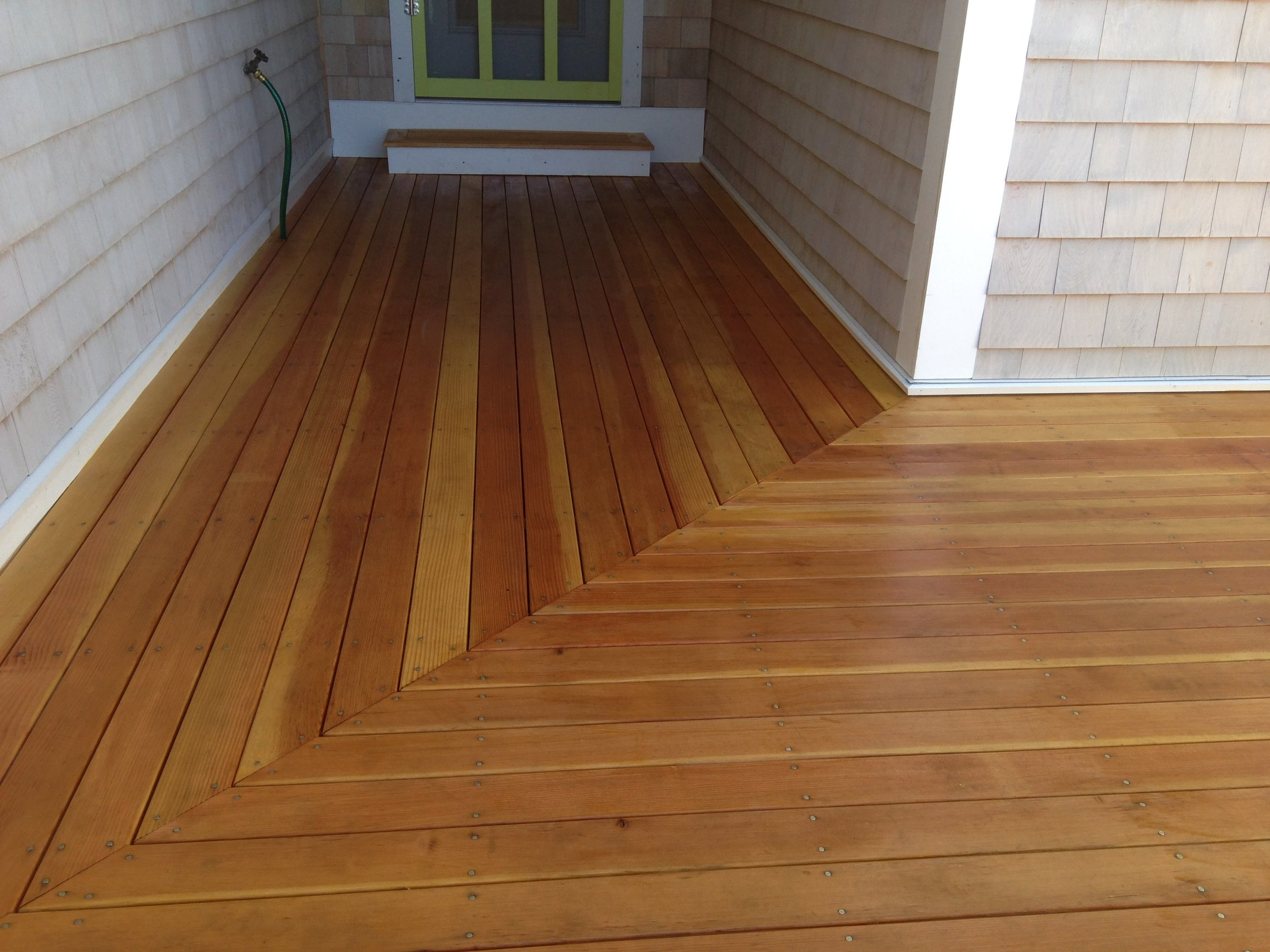 Deck Installation - We specialize in both custom decking design and solutions for challenging deck layouts.