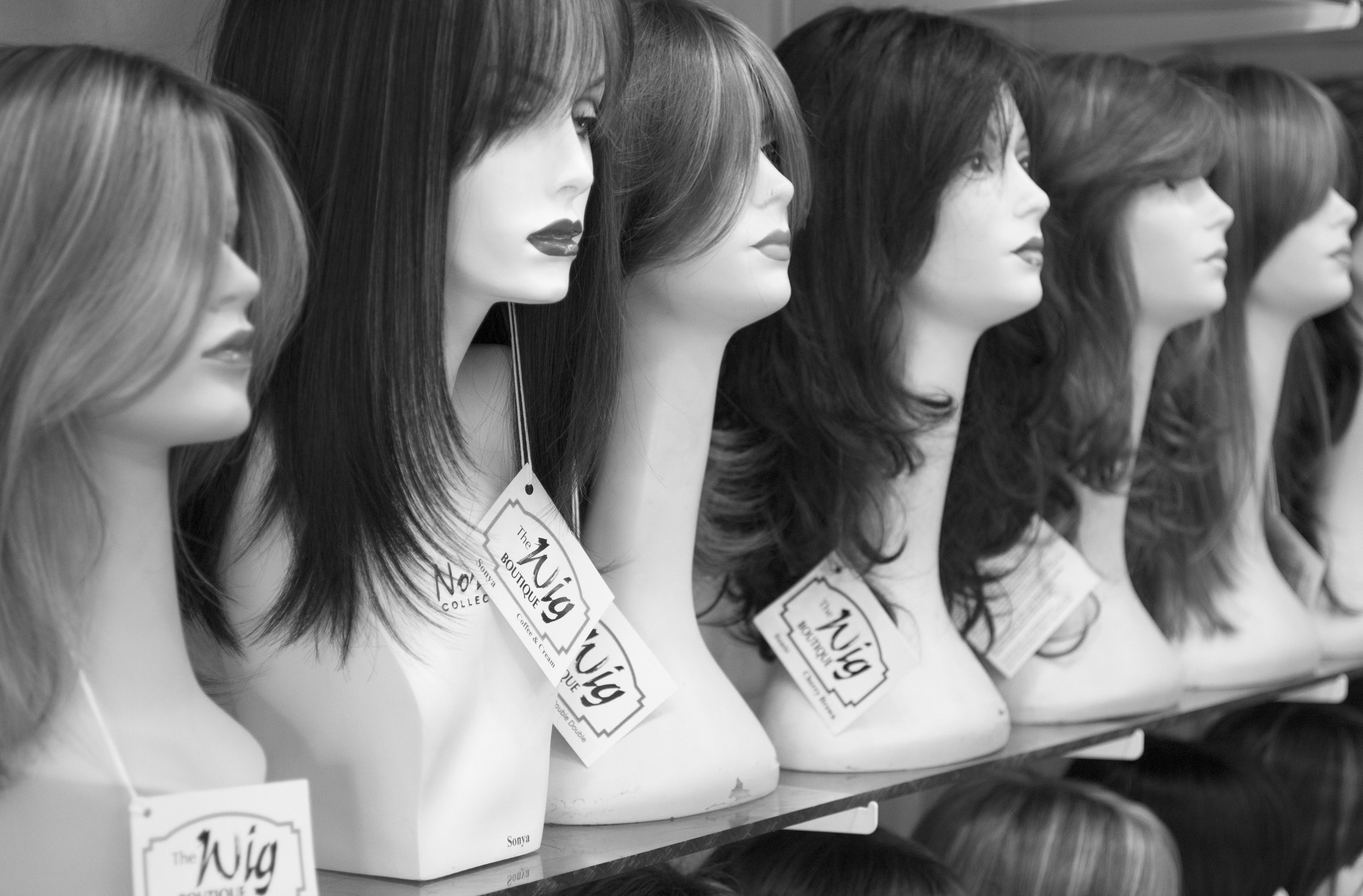 A 50 year legacy. - Founded in 1965, The Wig Boutique began serving the Edmonton area when it was a fashion trend for all women to have a wig.