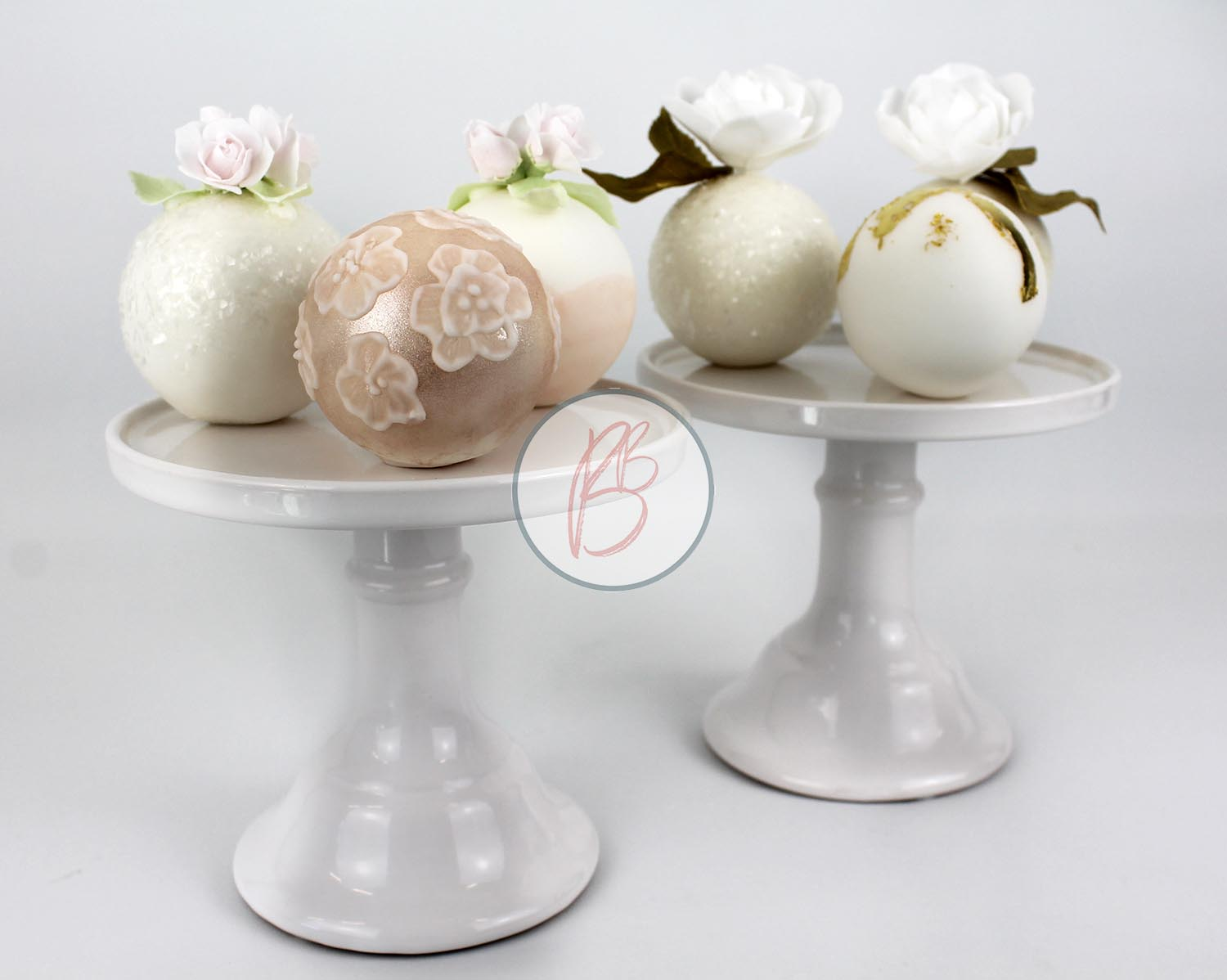 Mini Sphere Cakes Main Image