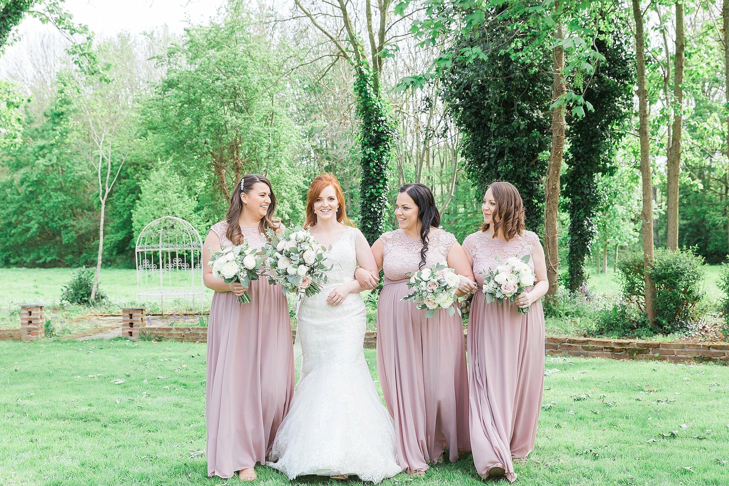 blush bridesmaids of somerset