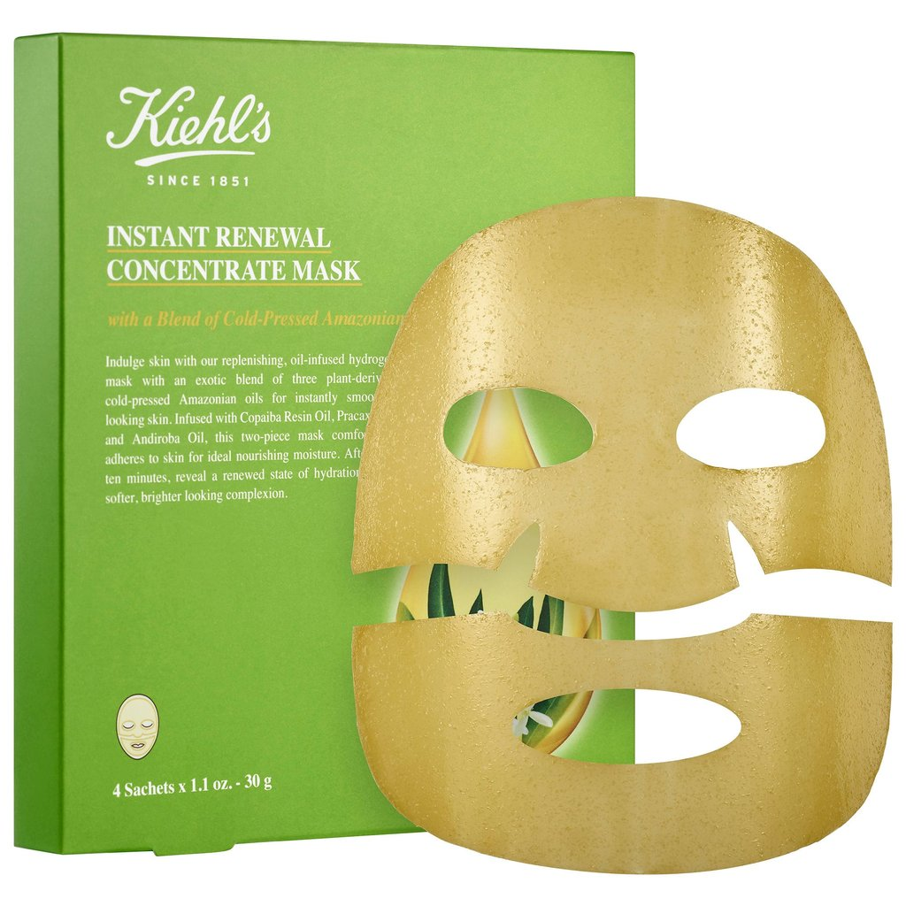 Instant Renewal Concentrate Sheet Mask ($32)