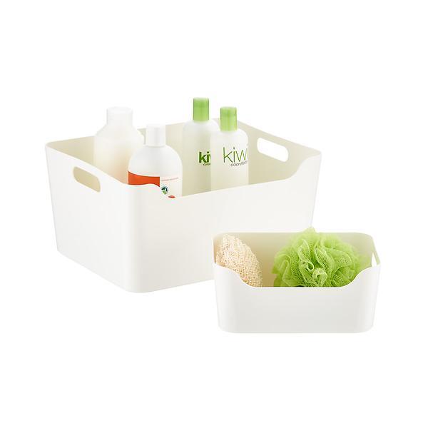Plastic Storage With Handle $6