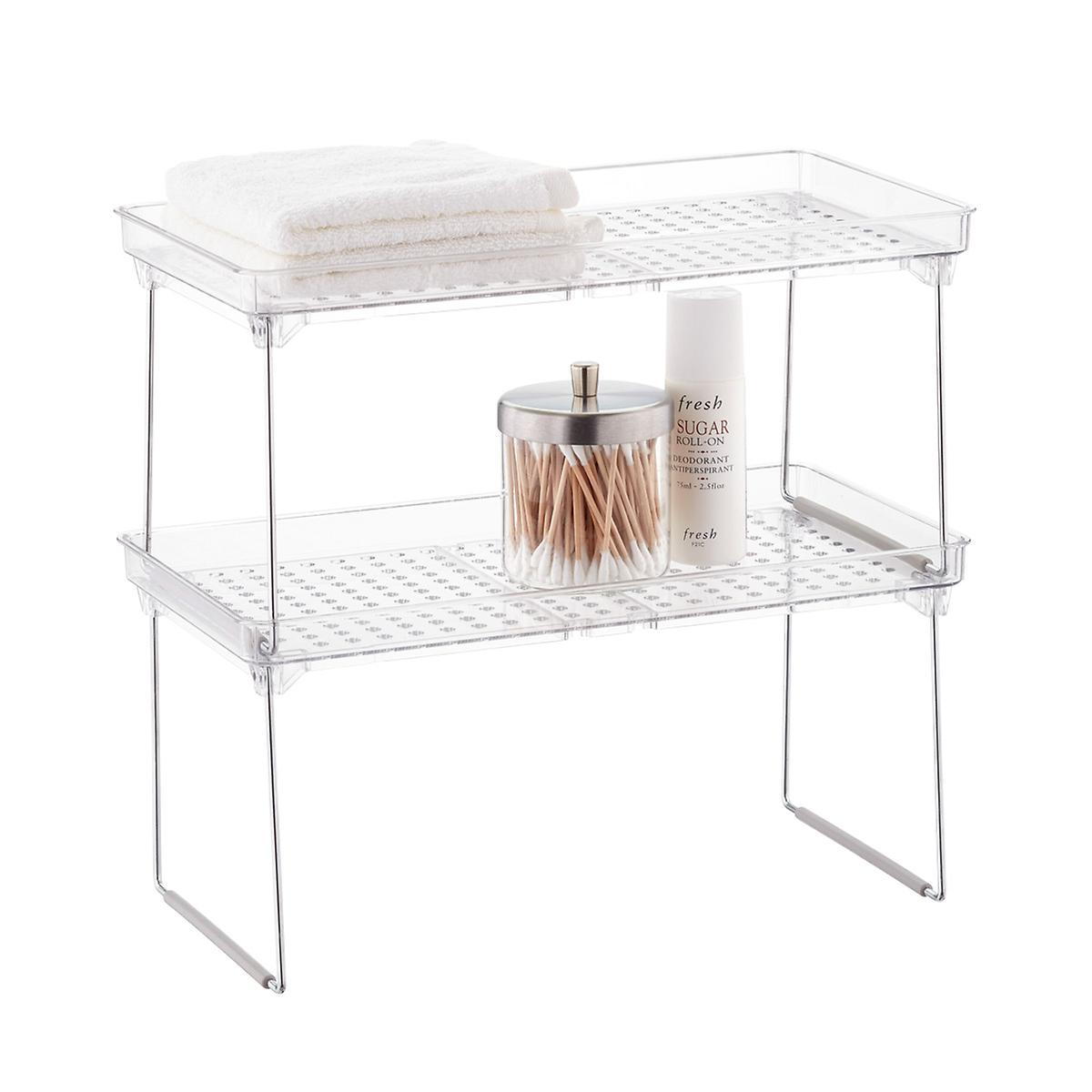 Stackable Cabinet Shelving $10