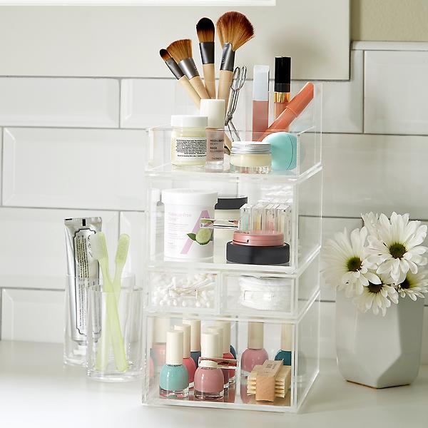 Luxe Tall Makeup Storage Kit $81