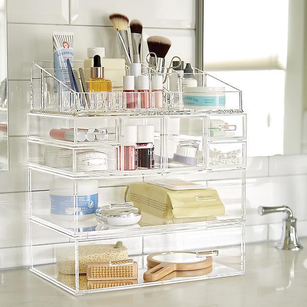 Modular Makeup Storage $45