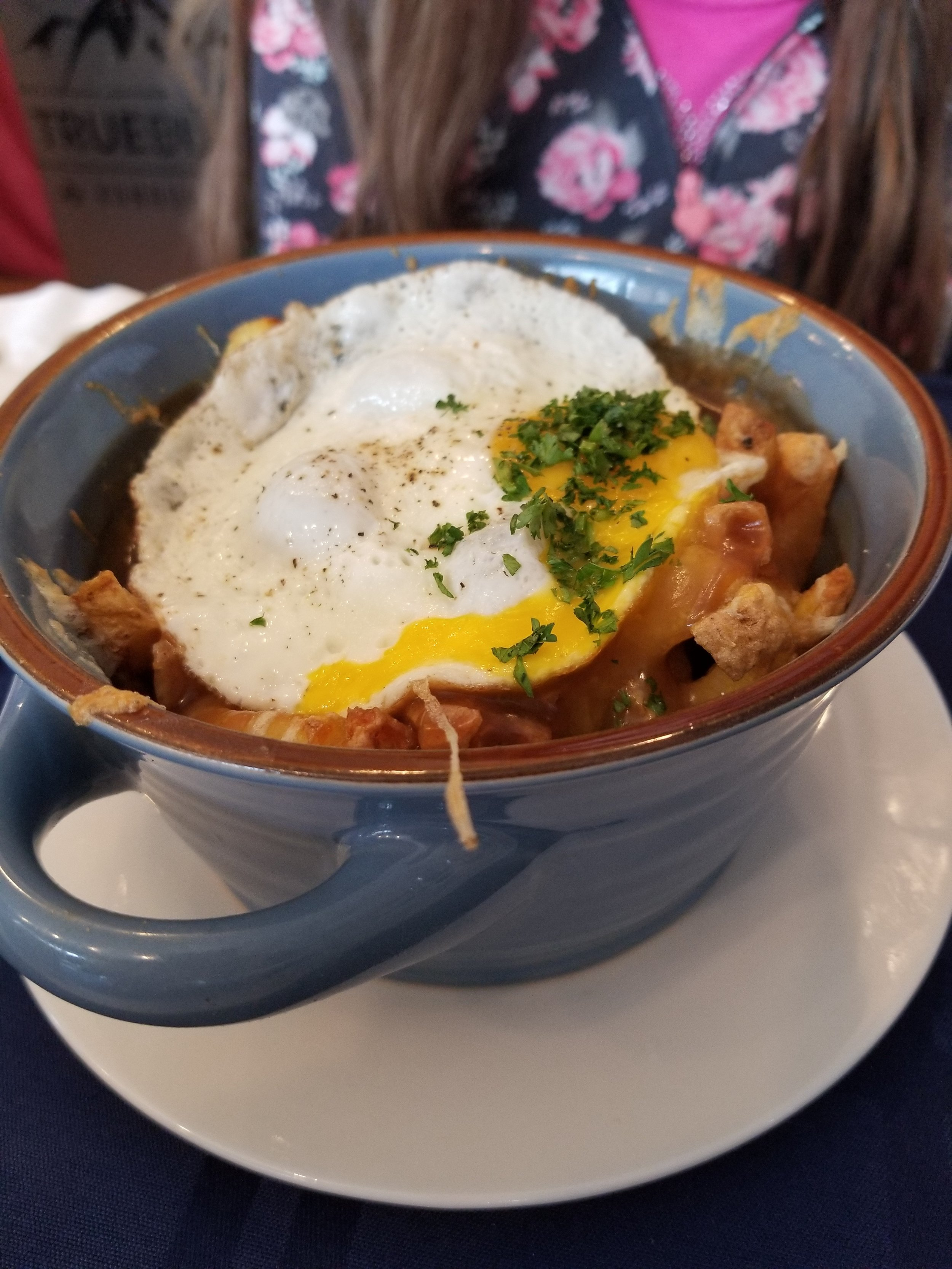Sunny Side Up - Breakfast Poutine