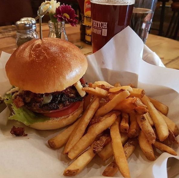 Half Hitch Brewery - Hitch Burger