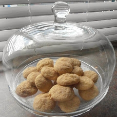 Egg Nog Snickerdoodle Cookies