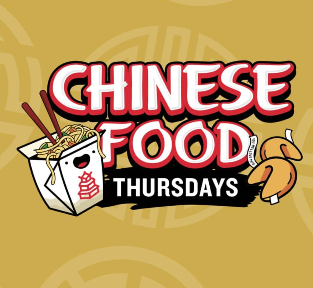 CHINESE FOOD THURSDAYS
